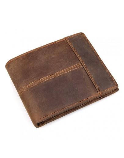 Фотография Мужское кожаное коричневое портмоне 78145R