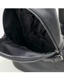 Фотография Чёрный мужской рюкзак на одну шлейку 7856-1A