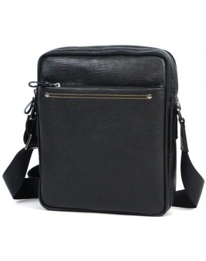 Фотография Кожаная мужская сумка на 2 отделения 78709A