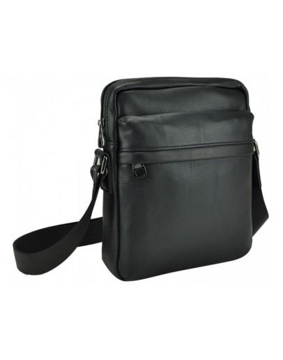 Фотография Мужская сумка на плечо черная 78721A