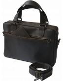 Фотография Коричневая кожаная деловая сумка формата А4 7877712-SGE