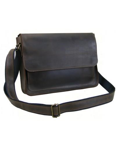 Фотография Коричневая вместительная повседневная сумка для мужчин 7887-SGE