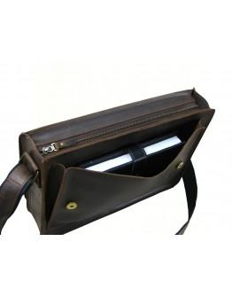Коричневая вместительная повседневная сумка для мужчин 7887-SGE