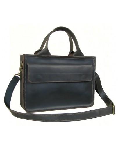 Фотография Коричневая деловая сумка формата А4 788900W-SGE