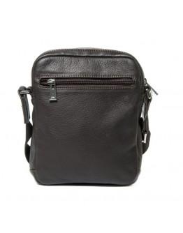 Повседневная компактная сумка на плечо коричневая Katana k789104-2