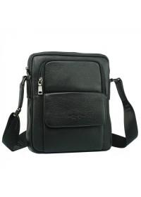 Черная мужская сумка на плечо 7892-4 BLACK