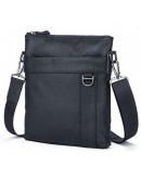Фотография Черная мужская сумка кожаная на плечо 79010a