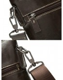 Фотография Коричневая мужская сумка кожаная на плечо 79010c
