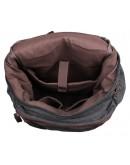 Фотография Большой мужской рюкзак, тканевый черный 79016a