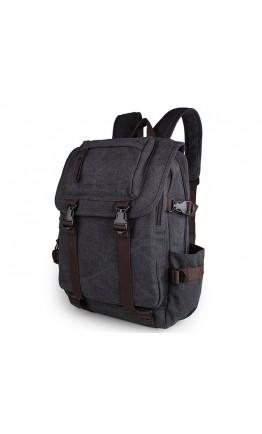 Рюкзак тканевый серого цвета 79023A-1
