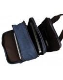 Тканевый синий мужской рюкзак 79028K