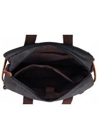 Большая тканевая мужская сумка для ноутбука и вещей 79030A-2