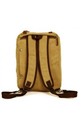 Тканевая сумка мужская рюкзак, формат ноутбука 17 79030B2