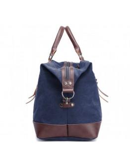 Большая синяя дорожная мужская сумка 79038BL