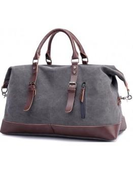 Большая серая дорожная мужская сумка 79038GR
