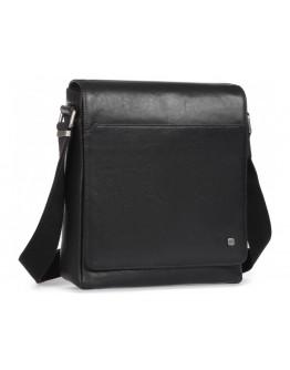 Мужская элитная кожаная сумка на плечо Blamont P7912021