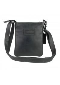 Черная небольшая мужская сумка планшетка 79220-SKE