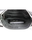 Фотография Черная небольшая мужская сумка планшетка 79220-SKE