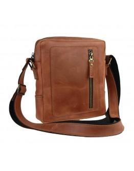 Светло-коричневая сумка на плечо без клапана 79527-SKE