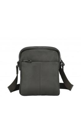 Коричневая кожаная мужская сумка - барсетка 79812-1C