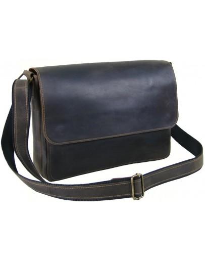 Фотография Коричневая сумка на плечо формата A4 79900-SGE