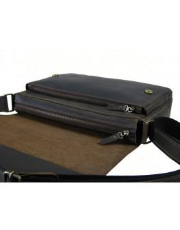 Коричневая сумка на плечо формата A4 79900-SGE