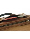 Фотография Кожаная сумка формата A4 рыжего цвета 799001-SGE