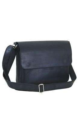Черная кожаная сумка формата А4 799022-SGE