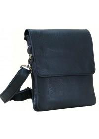 Черная небольшая кожаная удобная сумка 79955-SGE