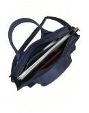 Фотография Кожаная сумка для документов и небольшого ноутбука 799655W-SGE