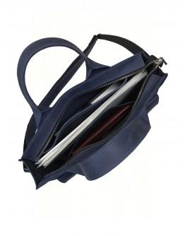 Кожаная сумка для документов и небольшого ноутбука 799655W-SGE