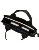 Фотография Мужская кожаная черная сумка 799900W-SGE