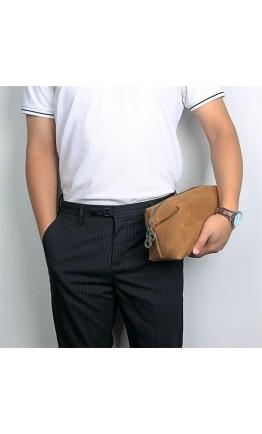 Мужская винтажная мужская барсетка - нессер 7C014B