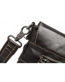 Фотография Качественная кожаная мужская повседневная сумка на плечо 7052