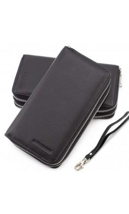 Клатч кожаный мужской черный Marco Coverna MC801B-1A