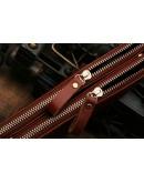 Фотография Мужская барсетка красивого коричневого цвета 78027b