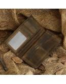 Фотография Кожаное мужское коричневое портмоне 8030R