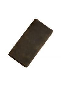 Кожаное мужское коричневое портмоне 8030R