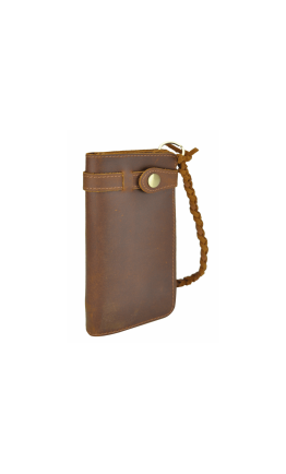 Первоклассное мужское портмоне из качественной кожи 78031R