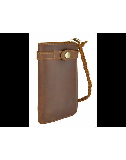 Фотография Первоклассное мужское портмоне из качественной кожи 78031R