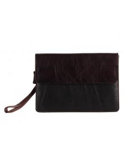 Большой кожаный клатч папка коричневого цвета 78038c