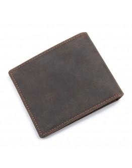 Кожаное коричневое портмоне 8047R