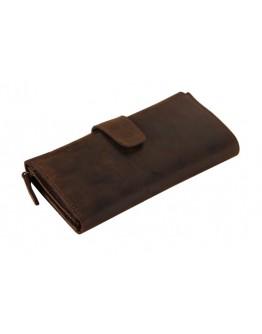 Брутальный кожаный клатч из лошадиной кожи 78052r