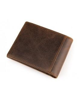 Коричневый мужской кошелек 8054B