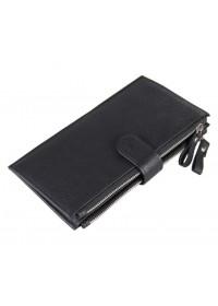 Черный мужской кожаный клатч 78057A