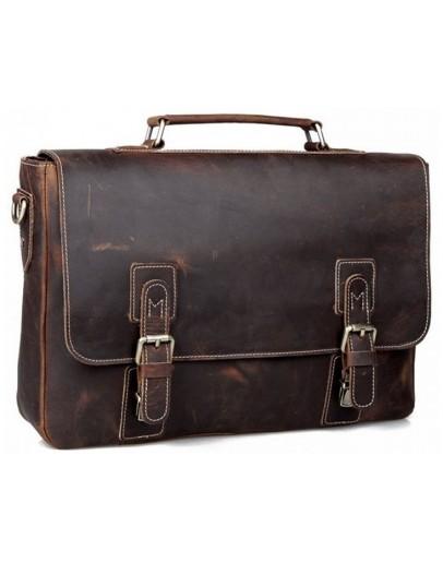 Фотография Брутальный портфель из воловьей кожи 780692C