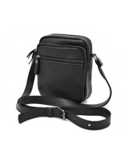 Черная небольшая мужская сумка на плечо Tarwa 8086 bl