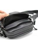 Фотография Черная небольшая мужская сумка на плечо Tarwa 8086 bl