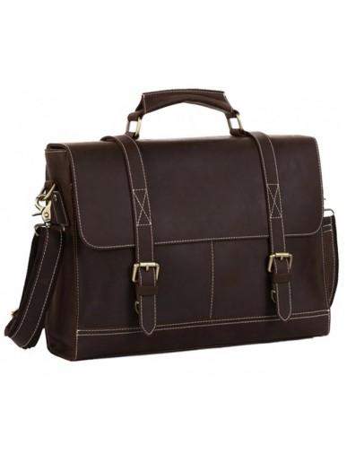 Фотография Стильный мужской портфель из воловьей кожи 78111T