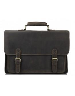 Добротный мужской портфель из лошадиной кожи 77205R